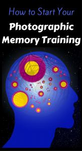 start eidetic memory training