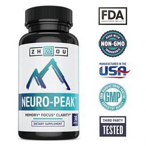 neuro peak memory focus clarity