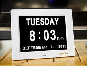 memory loss digital clock for sale